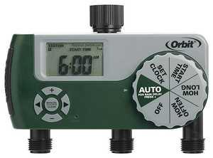 Orbit Irrigation 56082 Digital 3-Outlet Hose Timer