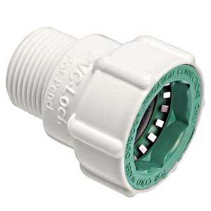 Orbit Irrigation 34778 3/4-Inch PVC-Lock X 3/4-Inch Mpt Adapter