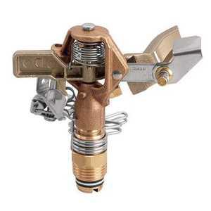 Orbit Irrigation 55032 Impact Sprinkler Head Brass 1/2