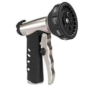 ORBIT 91365 Premium Front Trigger 9-Pattern Metal Turret Nozzle