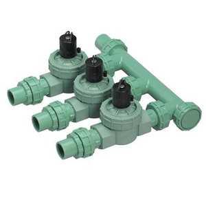 Orbit Irrigation 57253 3-Valve Heavy Duty Preassembled Manifold