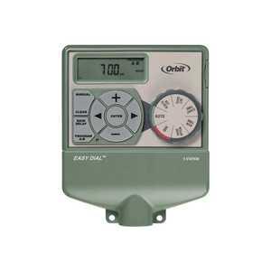 ORBIT 57876 6-Station Easy Dial Indoor Sprinkler Timer