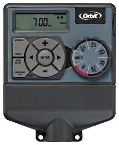 ORBIT 57874 4-Station Easy Dial Sprinkler Timer