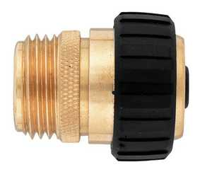 Orbit Irrigation 58369N 5/8-Inch Brass Male Hose Mender