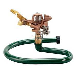 Orbit Irrigation 58643 Brass Impact Lawn Sprinkler On Metal Ring