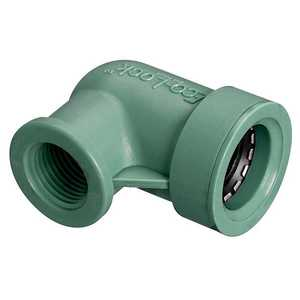 Orbit Irrigation 36375 3/4 In Eco-Lock X 1/2 In Fpt Elbow
