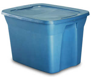 J Terence Thompson 2910-039 18 Gal Blue Storage Tote