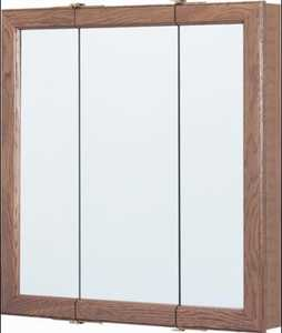Osage Products CBT30-11-B Tri-View 30 in Oak