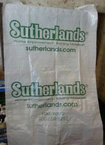 Sutherland Lumber MAX WRAP 9-Foot X 100-Foot Sutherlands House Wrap