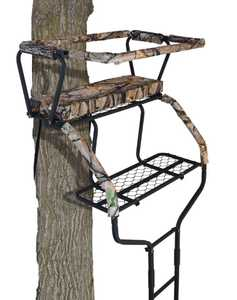 Muddy Outdoors MLS2100 The Commander 2-Man Ladder Stand