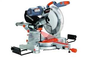 Terratek PSMS12DB 12-Inch Double Bevel Miter Saw With Laser