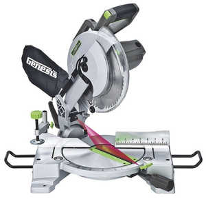Genesis GMS1015LC 10-Inch 15 Amp Compound Miter Saw With Laser