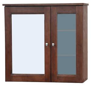 Osage Cabinet UPMC3027-F Uptown 2 Door Medicine Cabinet 30x27