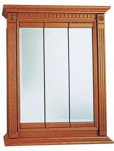 Osage Cabinet KTV2430-B 24x30 Kingsgate Tri-View Medicine Cabinet