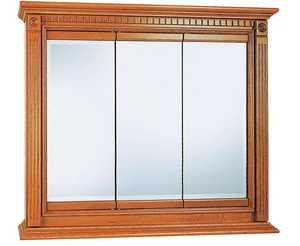 Osage Cabinet KTV3630-B 36x30 Kingsgate Tri-View Medicine Cabinet
