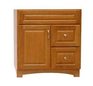 Osage Cabinet Tv3018 Dl Timberline 30x18 2 Drawer Vanity At Sutherlands