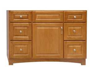 Osage Cabinet TV4821-D Timberline 48x21 6 Drawer Vanity