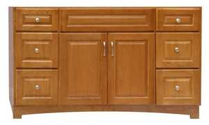 Osage Cabinet TV6021-D Timberline 60x21 6 Drawer Vanity