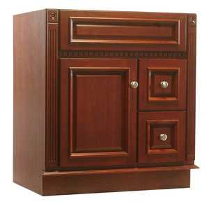 Osage Cabinet RV3021-D-C 30x21 Royal Cherry Vanity