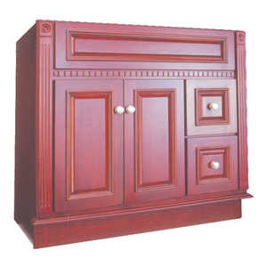 Osage Cabinet RV3621-D-C 36x21 Royal Cherry Vanity