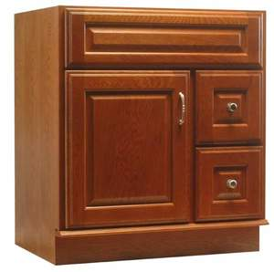 Osage Cabinet WSV 3021-DL 30-Inch X 20-Inch Cinnamon Finish Windsor Series Vanity