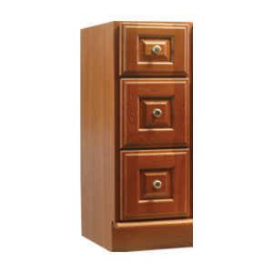 Osage Cabinet WSDB1221-3D Windsor 3 Drawer Bank