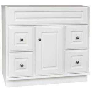 Osage Cabinet SV3621-D 36x21 Sierra White Vanity