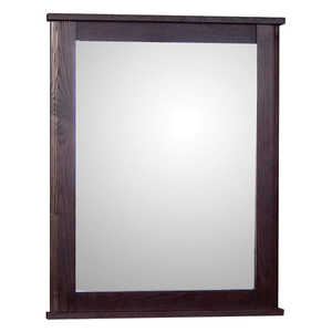 Osage Cabinet MFM 2430-F-DK Frame Mirror 24x30 Mocha