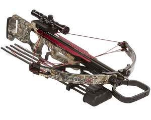 CamX Crossbows 16BX330RX-NIR Camo X330 Crossbow With Base Package