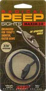 Radical Archery Designs 26027 Maxim 38 Peep Sight