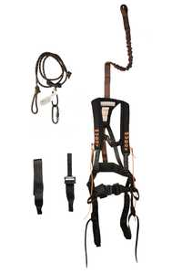Muddy Outdoors 150120 Small/Medium Black Safeguard Harness