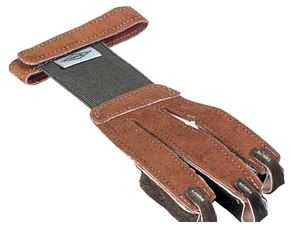Neet 72802 Brown Medium Shooting Glove