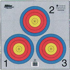 Maple Leaf Press TA3X40GX500 Official Vegas 3-Spot Target