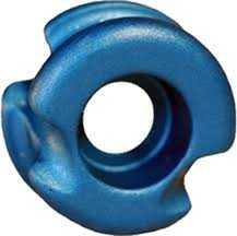 Radical Archery Designs 0021149-BL Super Deuce 38 Blue Peep Sight 1/4