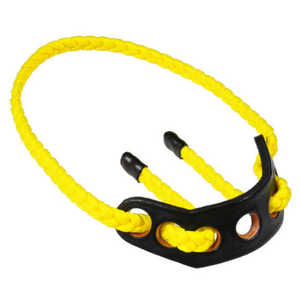 Paradox Products PBSL T-37 BowSling Solid Neon Yellow Standard Target Braided Strap