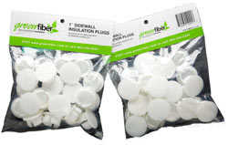 Green Fiber INS541LD Cocoon Insulation Plugs 25-Pack