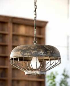 Park Hill Collections FH6080 Old Chicken Feeder Pendant Light Fixture