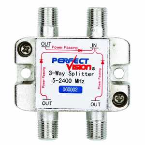 Perfect Vision Mfg 060002 3-Way Splitter
