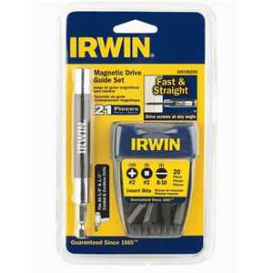 Irwin 3057002DS 21-Piece Magnetic Drive Set