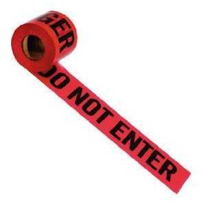 Irwin 66202 Danger - Do Not Enter Barrier Tape