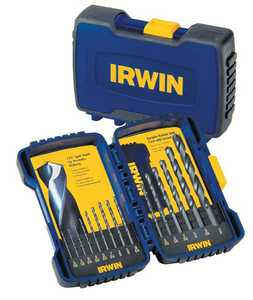 Irwin 314015 15-Piece Black Oxide Drill Bit Set
