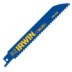 Irwin 372810 8-Inch 10Tpi Metal And Wood Cutting Bi-Metal Reciprocating Blades With Weldtec