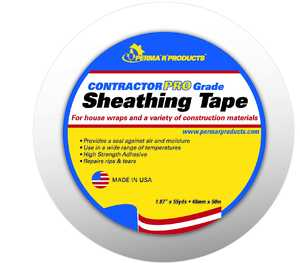 PERMA R PRODUCTS, INC 1.87 in X55YD Contractor Sheathing Tape