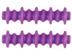 Pine Ridge Archery 2724-PR Nitro Button Xl 2pk Purple
