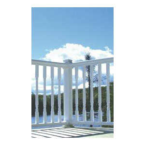Plastival 321567 Premium Pvc Deck Rail Section 8 ft