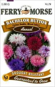 Ferry-Morse Seed Company 1013 Bachelor Button Double Seeds
