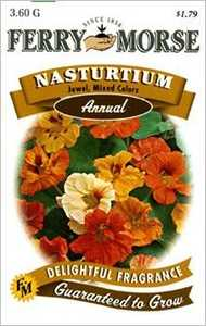Ferry-Morse Seed Company 1099 Nasturtium Jewel Mix Seeds