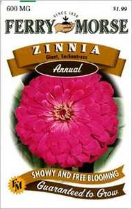 Ferry-Morse Seed Company 1171 Zinnia G D Enchant Seeds