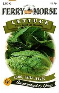 Ferry-Morse Seed Company 1307 Lettuce Parris Island Seeds