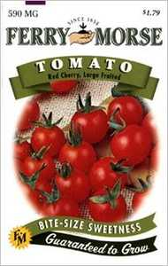 Ferry-Morse Seed Company 1408 Tomato Red Cherry Seeds